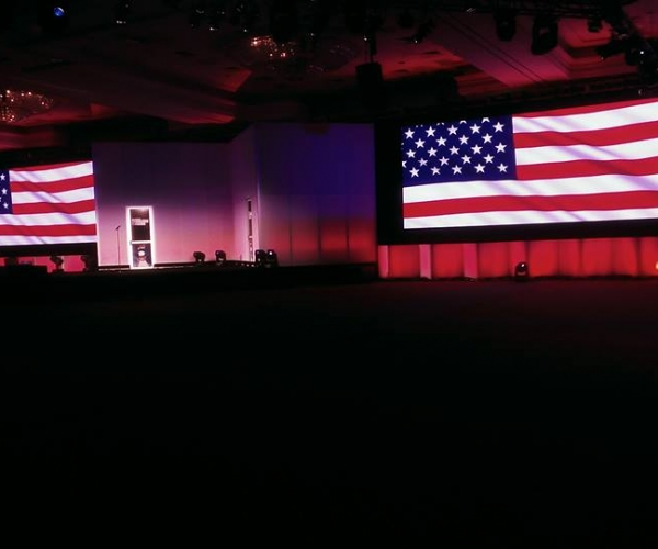 Stage Lighting Project in Foxwoods