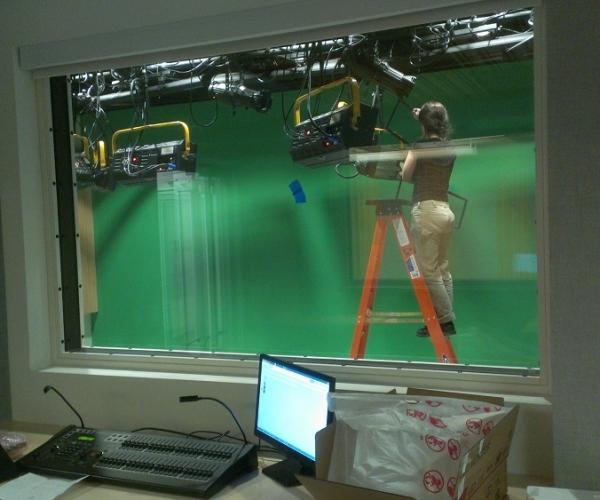 Video Studio Lighting Installation in Boston, MA