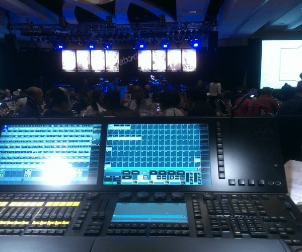 Stage Lighting Design for ABCD Gala in Boston, MA