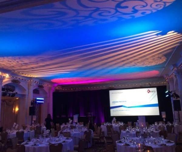 AV Presentations for event at the Omni Mount Washington Resort in Bretton Woods, NH